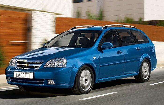 Прокат Chevrolet Lacetti синий универсал