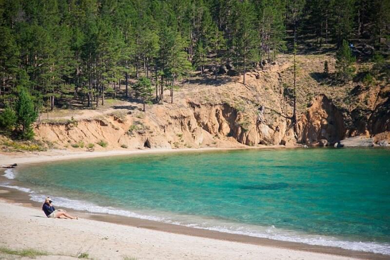 Пляжный отдых на Байкале
