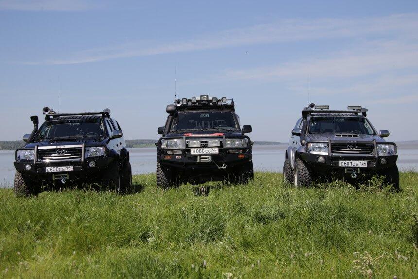 Машина для поездки на Байкал